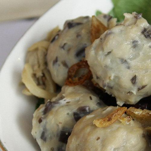 makanan khas hongkong Bakso Ikan