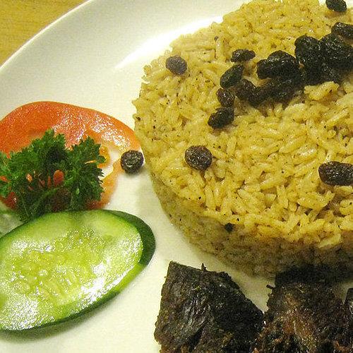 makanan khas arab nasi kebuli
