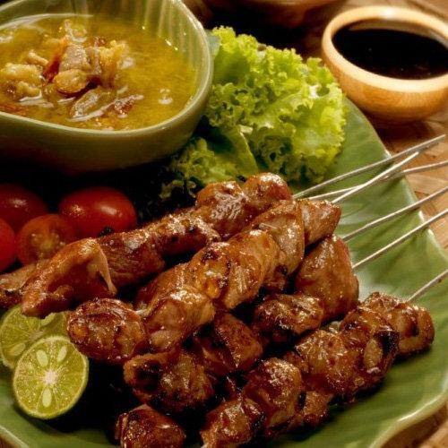 makanan khas Bantul Sate Klatak