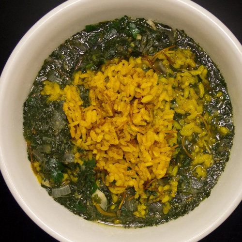 makanan khas mesir Mulukhiya