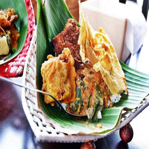 Makanan Khas Suku Jawa Nasi Pecel