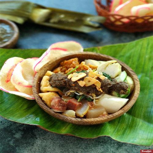 Makanan Khas Suku Jawa Rujak Cingur