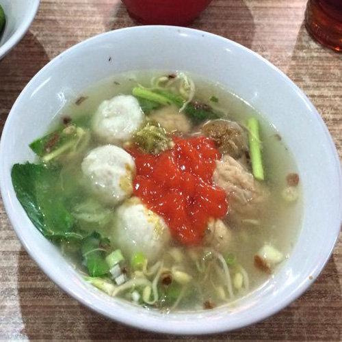 Makanan Khas Banten Bakso ikan