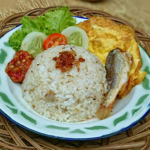 Makanan Khas Tasikmalaya Nasi Cikur