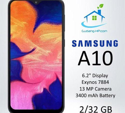Simak, Kelebihan dan Kekurangan Samsung A10 Beserta Spesifikasi