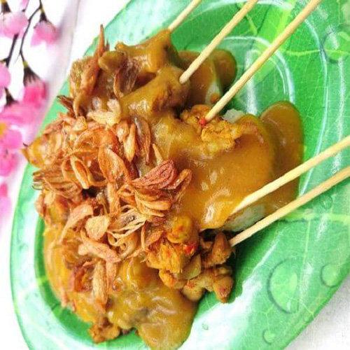 Makanan Khas Minangkabau Sate Padang