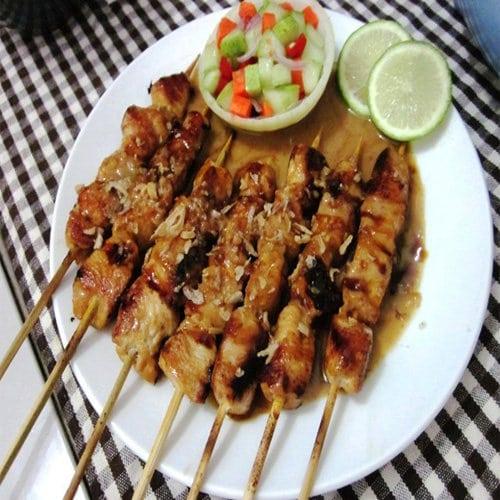 Makanan Khas Aceh Sate Matang