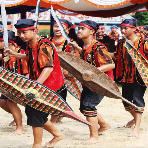Tari Adat Sumatera Utara Tari Baluse