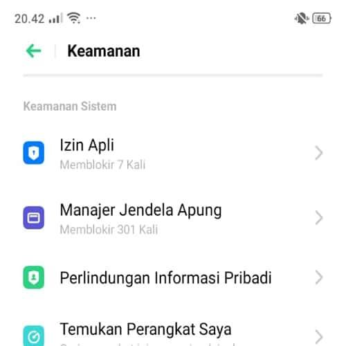 cara mengunci aplikasi di realme 5
