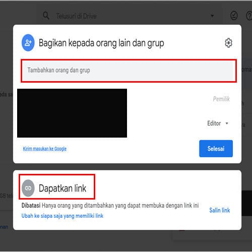 Cara upload file ke google drive