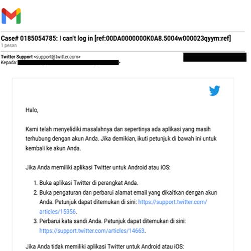 Cara Membuka Akun Twitter Yg Lupa Email dan Password