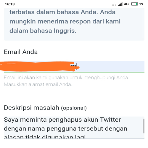 Cara Menghapus Akun Twitter Yang Lupa Password
