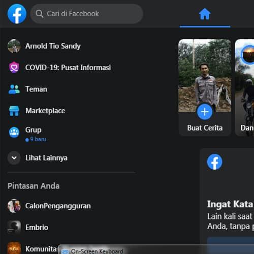 cara menampilkan fitur marketplace di facebook