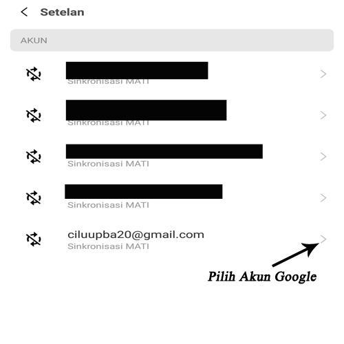 cara menghapus akun google atau gmail di hp xiaomi