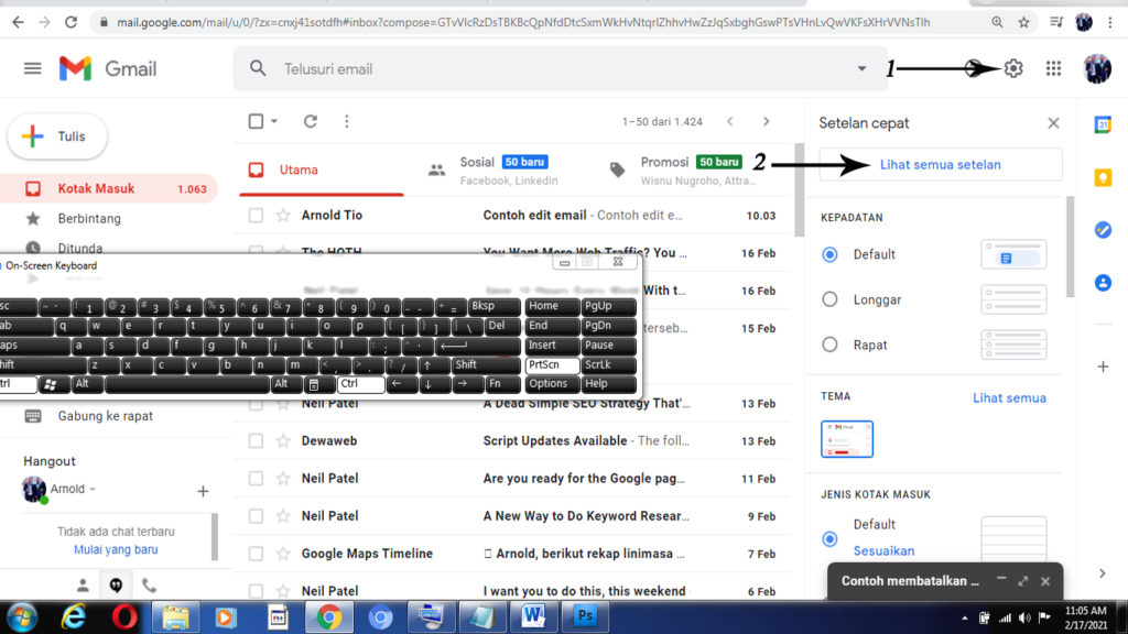 Cara Mudah Membatalkan Pesan di gmail