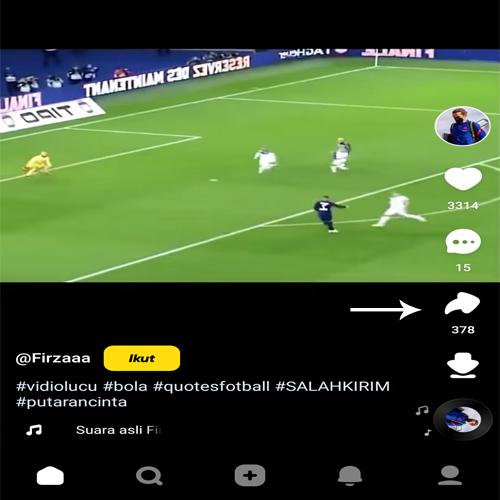 cara menghilangkan tulisan snack video