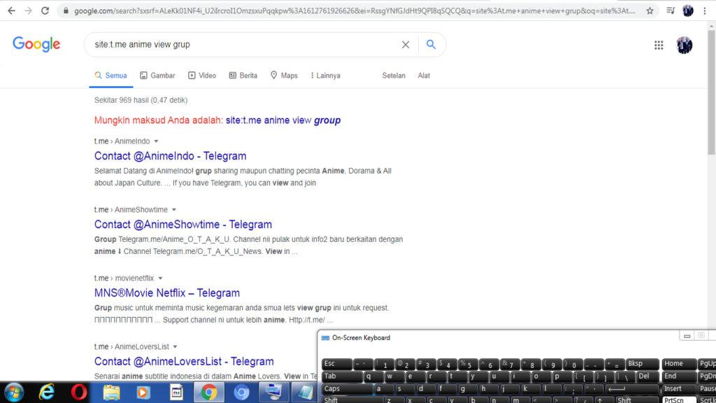 cara mencari grup di telegram