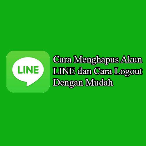 Cara Menghapus Akun LINE