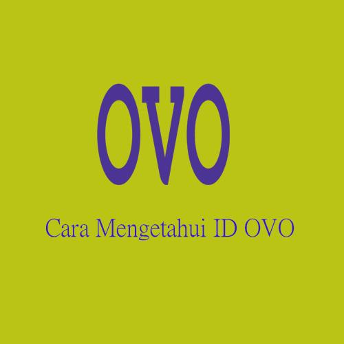 Cara Mengetahui ID OVO