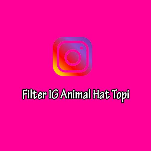Filter IG Animal Hat Topi