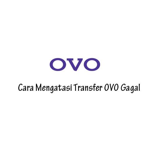 Cara Mengatasi Transfer OVO Tidak Berhasil
