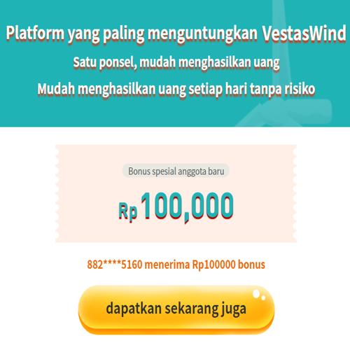 aplikasi vestas wind penghasil uang
